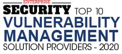 Enterprise Security places HOPZERO in Top10 Vulnerability Management Solution Providers 2020